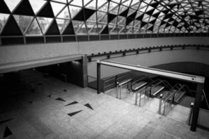 modernes U-Bahn-Interieur
