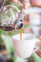 Kaffee machen foto