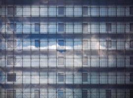 Äußeres des modernen Gebäudes foto