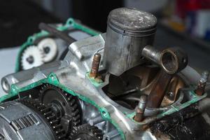 Motor öffnen