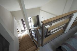 Treppe in Maisonette-Wohnung Interieur