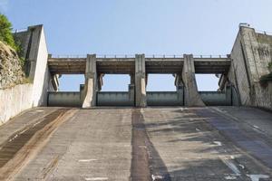 Hydroelektrisches Kraftwerk foto