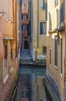 kleiner venezianischer Kanal foto