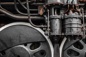 Dampfzugräder foto