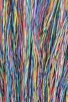 Netzwerkkabel Leitungen foto
