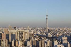 Tokio Stadt, Japan foto