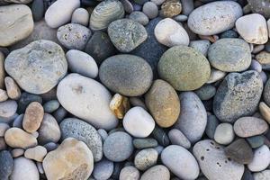 Textur der Kieselsteine