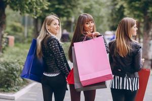 Mode-Einkaufsstraße foto