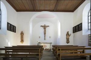 österreich, tirol, sankt johannes nepomuk kirche im bayerischen wald, foto
