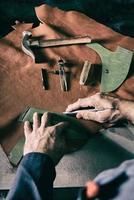 Schuh Fabrik foto