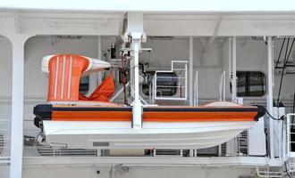 Sicherheitsrettungsboot foto