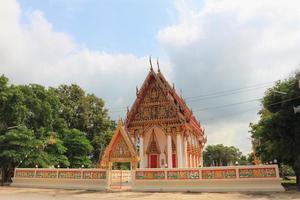 Tempel bei Wat Rong Saeng foto