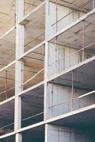 abstrakter geometrischer Hintergrund der Baustelle der Baustelle foto