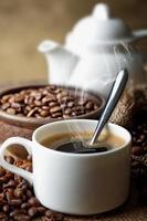 schwarzer Kaffee foto