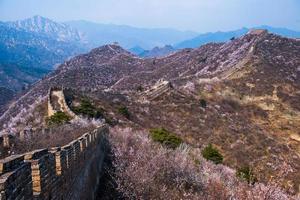 Frühling große Mauer foto