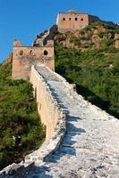 große Mauer - China foto