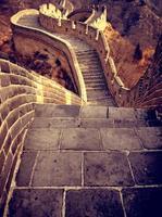Chinesische Mauer foto