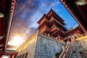 chinesische alte Architektur foto