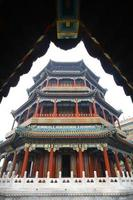 Sommerpalast in Peking, China foto