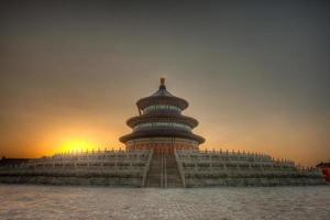 Himmelstempel in Peking foto