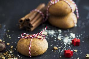 Kekse für Weihnachten foto