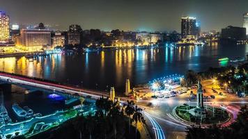 Kairo in der Nacht