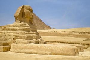 die Sphinx Ägypten Kairo foto