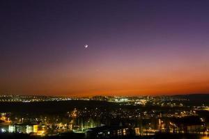 Venus und Halbmond foto