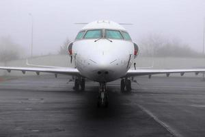 Düsenflugzeug foto