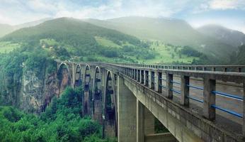Brücke dzhurzhevicha montenegro