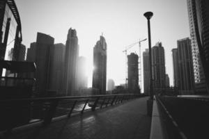 Stahlschönheit der Emirate. foto