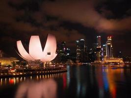 die Marina Bay Waterfront foto