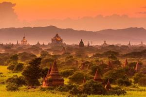 archäologische Zone von Bagan foto