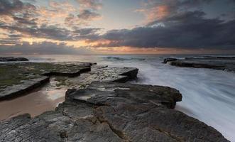 Turrimetta Rockshelf Sydney Australien foto