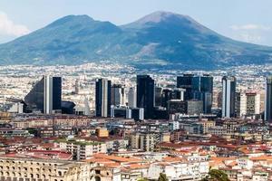 Skyline von Neapel foto
