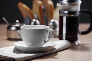Kaffeepresse foto