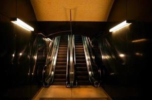 Rolltreppe geht hoch foto