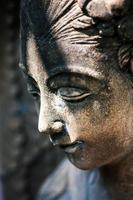 ruhende Statue foto