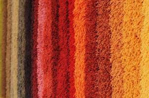 farbiger Teppich foto