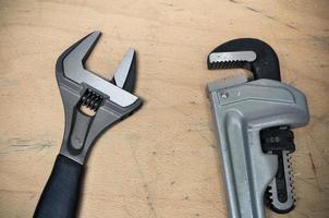 Werkzeuge im Vintage-Bildstil foto