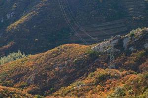 Kraftturm im Tal