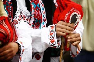 rumänischer Dudelsack foto