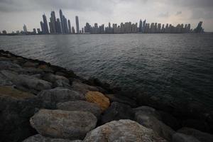 die Skyline von Dubai, VAE foto