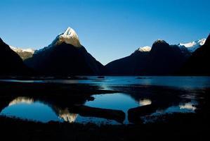 milford sound, neuseeland foto
