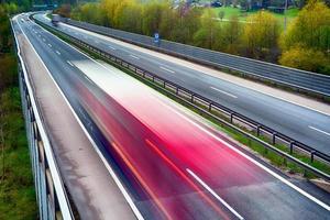 LKW auf der Autobahn