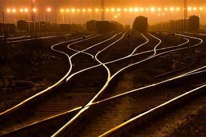 der Weg vorwärts Eisenbahn