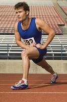 Läufer auf einer Strecke