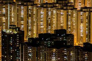 Hoch hinausragende Gebäude foto