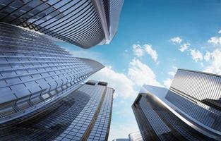 Wolkenkratzer foto