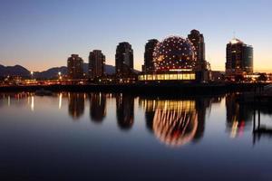 falsche Creek Morgen Reflexionen, Vancouver foto